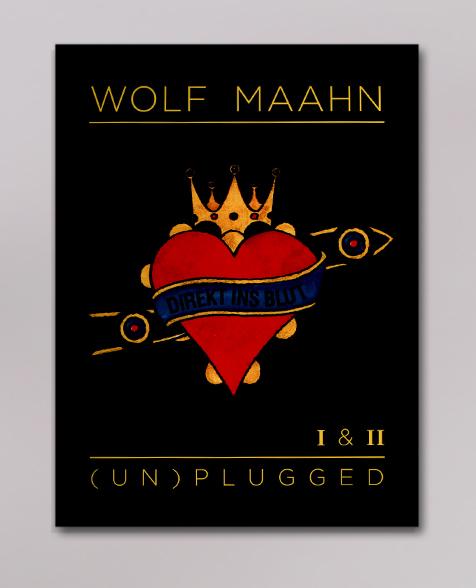 Wolf Maahn Direkt ins Blut - (Un)Plugged I & II Book
